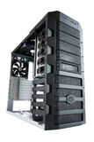 white för PC för falldator skrivbord isolerad Royaltyfria Bilder