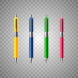 white för penna för bakgrund illustration isolerad realistisk royaltyfri illustrationer