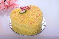white för platta för driftstopp för efterrätt för cakeostCherry läcker Royaltyfria Foton