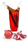 white för pomegranate för fruktsaft för bakgrundsdesignillustration Royaltyfri Foto