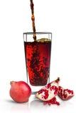 white för pomegranate för fruktsaft för bakgrundsdesignillustration Royaltyfria Bilder