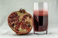 white för pomegranate för fruktsaft för bakgrundsdesignillustration Arkivbilder