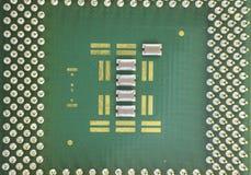 white för processor för modell för dator 3d Royaltyfria Foton