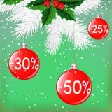 white för shopping för försäljning för bakgrundsjulflicka lycklig Royaltyfria Foton