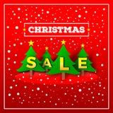 white för shopping för försäljning för bakgrundsjulflicka lycklig Arkivbild