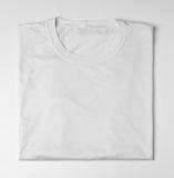white för skjorta t arkivfoto