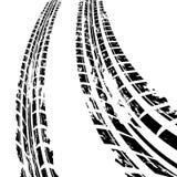 white för spår för gummihjul för bakgrundsdesignillustration royaltyfri illustrationer