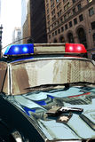 white för stil för polis för bilcartoonish bild isolerad Arkivfoto