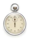 white för stopwatch för bild för bakgrund 3d isolerad Royaltyfri Bild