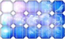 white för sun för panel för energi hand isolerad sol- vektor illustrationer