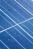 white för sun för panel för energi hand isolerad sol- Fotografering för Bildbyråer