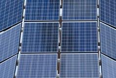 white för sun för panel för energi hand isolerad sol- Royaltyfri Foto