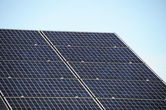 white för sun för panel för energi hand isolerad sol- Royaltyfri Fotografi