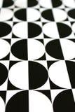 white för svart geometrisk modell för backgroun vertikal Royaltyfri Fotografi