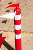 white för trafik för kottar för bakgrund 3d bild isolerad Arkivbild