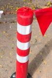 white för trafik för kottar för bakgrund 3d bild isolerad Arkivbilder