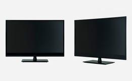 white för tv för bild för bakgrund 3d isolerad Arkivbilder