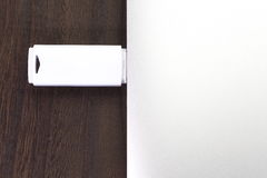 white för usb för bakgrundsdrevexponering illustration isolerad Arkivfoton