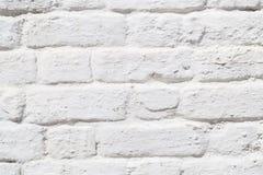 white för vägg för textur för foto för abstrakt bakgrundstegelsten gammal Royaltyfria Bilder