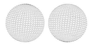 white för vektor för bakgrundsillustrationhaj boll för pussel 3d Royaltyfria Foton