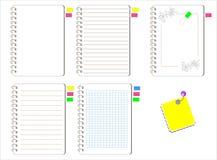 white för vektor för bakgrundspapper set vektor illustrationer