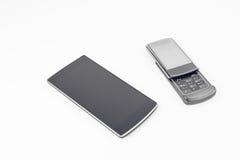 white för vektor för 10 för abstrakt bakgrundsblack redigerbar för eps modern touchphones för smartphones Royaltyfri Fotografi
