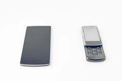 white för vektor för 10 för abstrakt bakgrundsblack redigerbar för eps modern touchphones för smartphones Royaltyfri Foto
