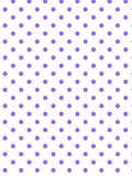 white för vektor för polka för bakgrundsprick eps8 purpur Royaltyfri Fotografi