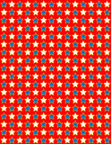 white för vektor för stjärna eps8 för bakgrund blå röd royaltyfri bild