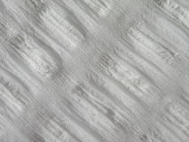 White fabric. White rough fabric suitable as background Stock Photography