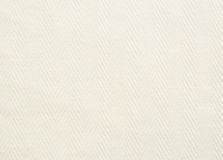 White fabric background Stock Photography