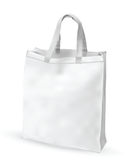 White fabric bag Royalty Free Stock Images
