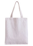 White fabric bag isolated on white background Royalty Free Stock Photo