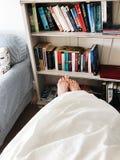 White Fabric Blanket Royalty Free Stock Image