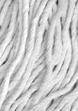 White fabric close-up Royalty Free Stock Image