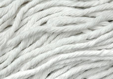 White fabric close-up Royalty Free Stock Image