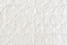 White fabric with cuts Royalty Free Stock Image