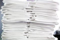 White fabric napkin Royalty Free Stock Photography