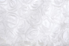 White fabric roses Stock Photos