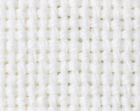White fabric texture Stock Images