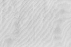 White fabric texture. Stock Image