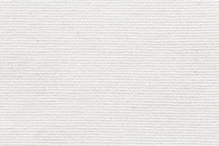 White fabric texture and seamless background Royalty Free Stock Photography