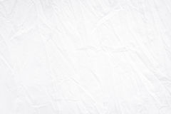 White fabric wrinkle folding texture detailed for overlay or background design. Wrinkle white fabric folding texture detailed for background Stock Photos