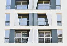 White facade Stock Photos