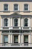 White facade Royalty Free Stock Photography