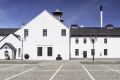 A whisky distillery factory Stock Photography