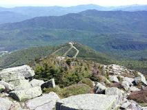 White face mountain. Whiteface mountain Lake Placid New York Royalty Free Stock Photo