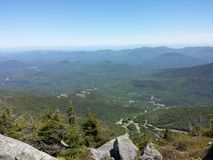 White face mountain. Whiteface mountain Lake Placid New York Stock Images