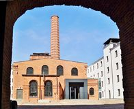 White Factory,Central Museum of Textiles, Lodz, Po Stock Photo