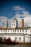 White Factory in Lodz, Poland Royalty Free Stock Photo